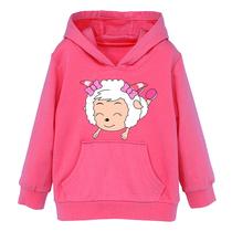 喜洋洋羊羊童装女童卫衣美羊羊加厚加绒外套秋装2013新款冬装衣服 价格:57.00