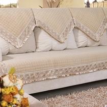 爱上佳特价秋冬欧式毛绒金丝绒防滑皮沙发垫布艺坐垫子沙发巾套罩 价格:54.00