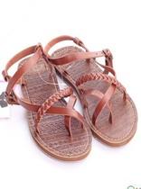 自留超舒服沙滩鞋欧美罗马平底坡跟凉鞋交叉绑带编织麻花女凉鞋潮 价格:55.00