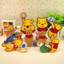 维尼熊背胶布贴 儿童宝宝补丁贴 熨烫贴 DIY衣服装饰贴 价格:2.20