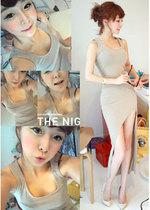 2013夏装新韩国代购 P180 性感裙修身气质 包臀韩版打底ol连衣裙 价格:43.00