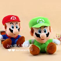 新款流行毛绒玩具 超级玛丽公仔 马里奥兄弟 中号结婚礼物 批发 价格:8.50