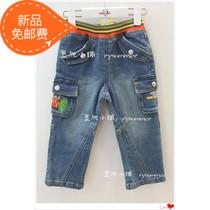 13秋装新款史努比童装专柜正品2AW30501男牛仔长裤90-140 价格:214.00