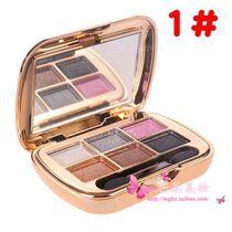 包邮 尹恩惠风格维尼小熊钻石六色眼影金沙光黑白棕大地烟熏紫色 价格:18.80