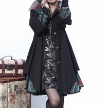 亦朵原创正 民族风 女秋装风衣 薄风衣外套 大码 风衣女2013新款 价格:406.00