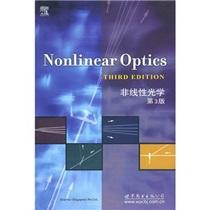 正版非线性光学(第3版)/(美)堡德著/书籍 图书 价格:45.60