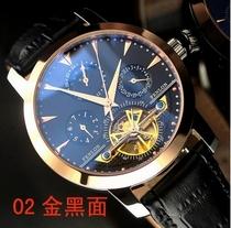 瑞士手表正品复古全自动机械镂空手表皮带男表时装表陀飞轮手表 价格:499.20