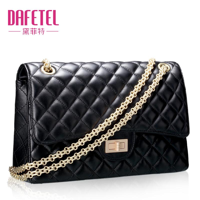 单肩包2013新款潮女士包包 欧美菱格包小包 链条包手提斜挎女包 价格:119.90