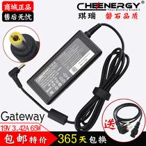 琪瑞 捷威Gateway明基 19V 3.42A 65W 笔记本电源适配器 一年包换 价格:69.35