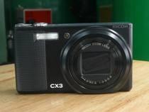 特价95新 Ricoh/理光 CX3 背照式CMOS 10.7X长焦 时尚 数码相机 价格:650.00