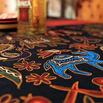 欧迷尔欧式茶几布 桌布 布艺餐布 抽象棉麻 台布方餐桌布新品特价 价格:33.80