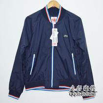 法鳄鱼 Lacoste L!ve Bomber Jacket 男士修身薄款 夹克外套 小标 价格:328.00