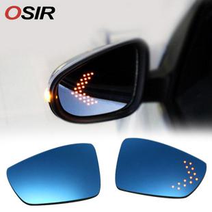 LED后视镜大视野蓝镜 新迈腾高尔夫旅行版/新帕萨特途观CC/奥迪A4 价格:380.00