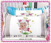 2件包邮精准印花儿童情侣卡通十字绣单人枕头套 美羊羊棒棒糖 价格:28.00
