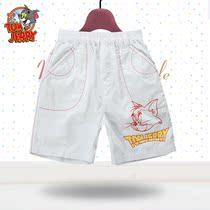 猫和老鼠正品 儿童纯棉童装 男童印花梭织短裤ES342 童装特价清仓 价格:29.00