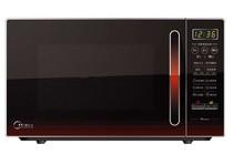 Midea/美的 EM7KCGW3-NR 微波炉 正品发票联保 20L 红色 电脑版 价格:439.00
