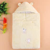阿卡奇 新生儿多功能抱袋 全棉 抱被 婴儿抱被多功能 防踢被 秋冬 价格:208.00