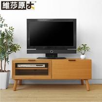 日式 纯实木电视柜茶几 柜子 白橡木电视柜 全实木家具 简约 价格:1758.00