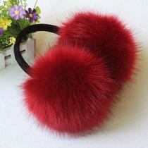 包邮超大保暖男女冬季可爱毛绒仿兔毛耳套耳包冬耳捂耳罩耳暖 价格:18.00