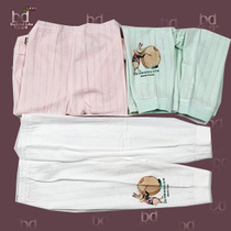 新生儿内衣/婴幼儿儿/圣宝度伦单面提花开闭两用裤SB8516(66-100) 价格:37.00