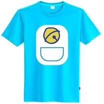 初己 韩版休闲卡通短袖t恤 多啦A梦叮当猫 新款加肥加大码男装t恤 价格:49.00