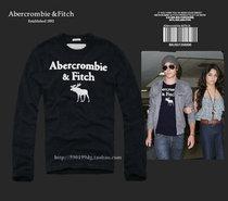 2013新款美国代购AF正品abercrombiefitch男装长袖圆领T恤 潮男款 价格:206.00