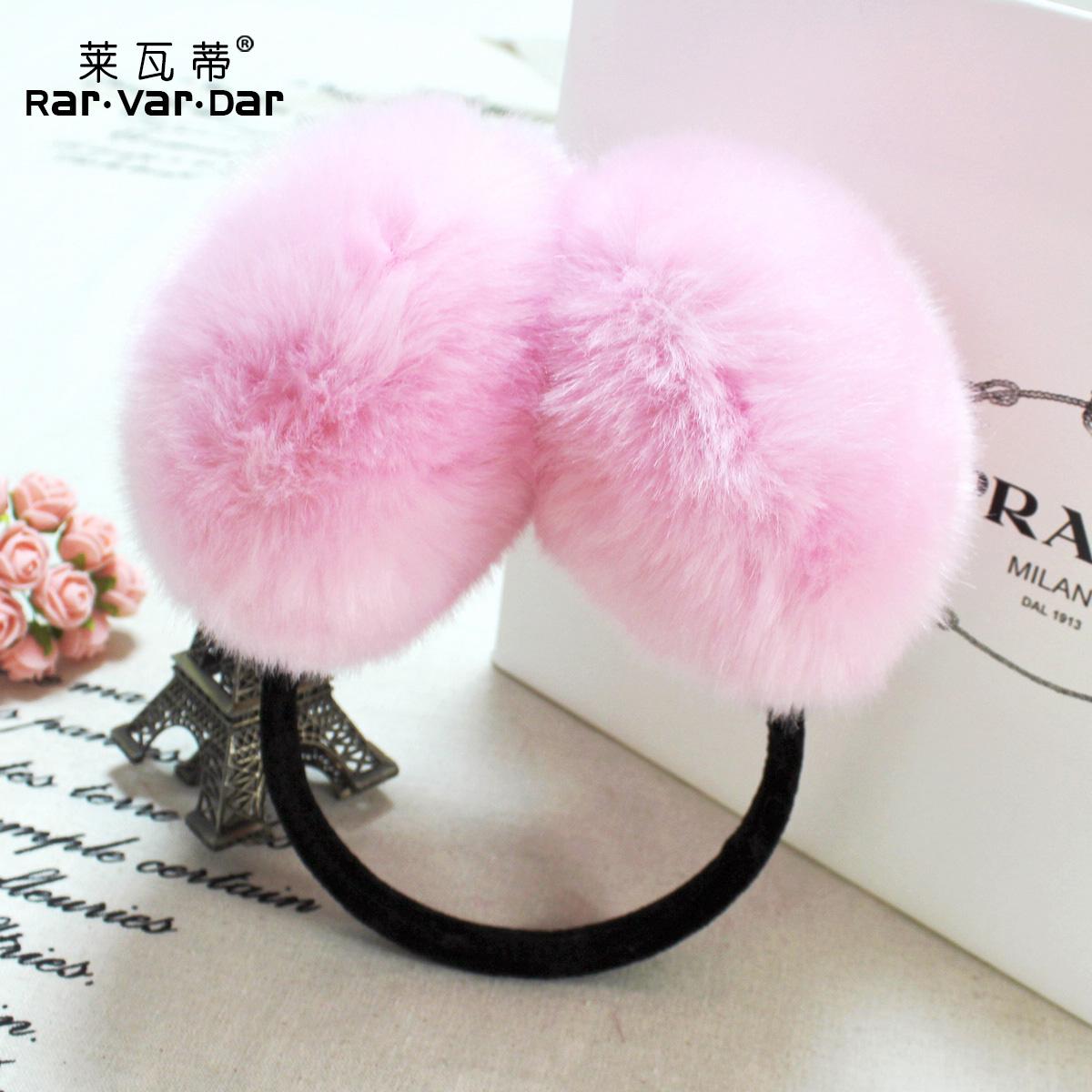 新款仿兔毛耳套时尚保暖毛毛女耳罩狐狸毛耳捂耳暖护耳耳罩耳包冬 价格:9.90