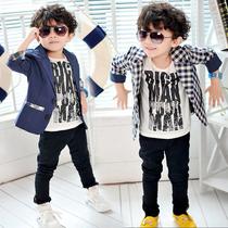 童装秋装2013新款儿童小西装开衫外套男童小西服韩版中小童西服 价格:35.90