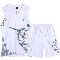 冲钻特价男士篮球服科比套装 篮球衣背心球服队服运动训练服印号 价格:19.00