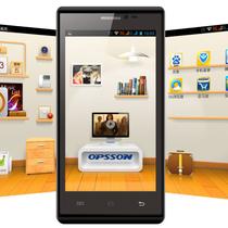 正品特价opsson/欧博信 ivo 6655 智能手机四核4.5寸超薄 安卓4.2 价格:550.00