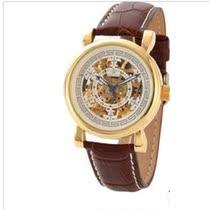 正品ORKINA全自动机械手表双面镂空雕花女士手表 皮带腕表防水表 价格:198.00