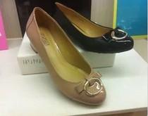 2013新款专柜正品代购 真美诗 13秋款低跟女单鞋 ZEN64 原价998 价格:389.22