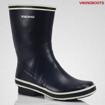 红雨鞋 出口欧美时尚男士中筒大码防滑大码男水靴亲子水鞋童鞋 价格:48.00