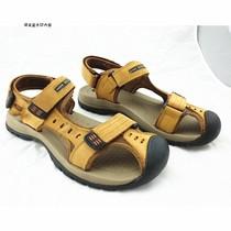 20123夏季舒适时尚精品真皮男士 凉鞋沙滩鞋135307法国啄木鸟 价格:102.40