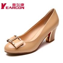意尔康女鞋 2013新款秋季浅口时尚时装真皮女单鞋 包邮正品 价格:299.00