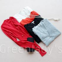 超值特意大利纱线14针精纺软濡纯羊绒开衫超美貌气质款j307125 价格:499.00