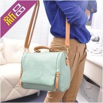 包包女包2013新款韩版潮糖果色英伦复古手提包斜跨包单肩包女士包 价格:26.80