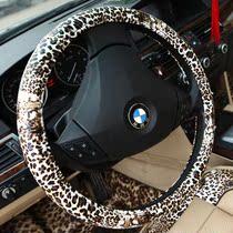 豹纹方向盘套四季通用 女 夏季 可爱 四季 韩国 汽车把套 包邮 价格:72.00