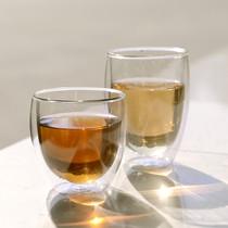 正品品高 高硼硅玻璃双层蛋杯Egg cup 咖啡杯隔热防烫玻璃杯 水杯 价格:29.80