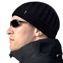 包邮 纯爷们 毛线帽 弹力瓜皮帽子 黑色男士针织帽冬帽保暖帽 价格:35.00