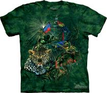美国代购The Mountain 正品个性美洲猎豹情侣装全棉创意T恤 价格:97.68