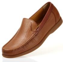 3折包邮 英伦商务日常休闲男士皮鞋 圆头真皮正品头层驾车男鞋子 价格:285.00