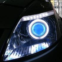 普锐斯NHW20天使眼大灯 丰田普锐斯大灯 普锐斯Q5双光透镜疝气灯 价格:1500.00