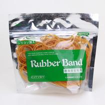 橡皮筋 橡皮圈 牛皮筋 高级天然橡胶 不易断裂 内径2.5CM/60克 价格:6.90