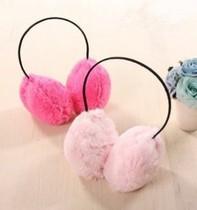 日韩国秋冬毛绒 超大耳套 可爱保暖绒毛耳罩 价格:2.50