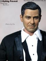 1:6兵人头雕 手办模型 乔治·克鲁尼头雕 影星人偶模型 正品爆款 价格:180.00