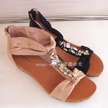 金利来 夏季新款 女鞋 平底女士 凉鞋镶钻 AF01603 63253AF01601 价格:378.00