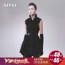 现货特价 AIVEI/艾薇 2012秋装新款 专柜正品代购连衣裙12ip408 价格:986.00