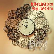 卓尔新款 烟花季节铁艺挂钟/圆形客厅艺术钟表/婚庆个性时尚挂钟 价格:158.00
