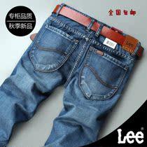 levis秋季新款修身直筒牛仔裤韩版潮 lee李牌男牛仔裤专柜代购 价格:87.00